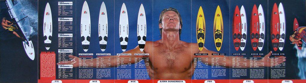 szörfdeszka választék 1996